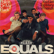 The Equals - Police on my back_cover