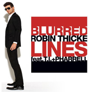 Robin Thicke ft. T.I. & Pharrell · Blurred lines 1