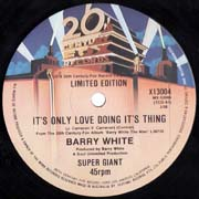Barry White · It's only love 2