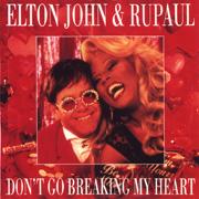 Elton John e RuPaul - Don't go breaking my heart 01