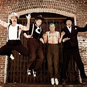 Red hot chili peppers - I get around 02